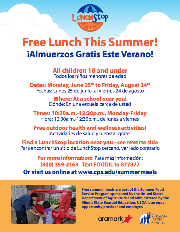 Free Lunch This Summer